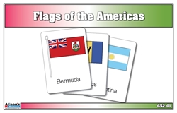 Flags of the Americas Three Part Cards (Printed)