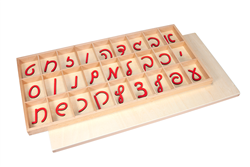Small Movable Alphabets: Cursive, Hebrew