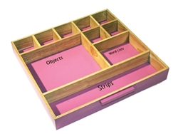 Storage Tray for Pink Language Series