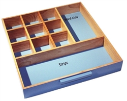 Storage Tray for Blue Language Series