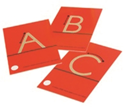 Tactile Upper-Case Sandpaper Letters