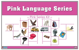 Montessori Pink Language Series