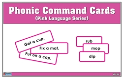 Phonic Command Cards