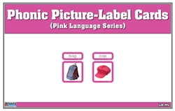 Phonic Picture-Label Cards