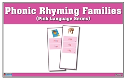 Montessori Materials: Phonic Rhyming Families