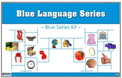 Montessori Blue Language Series (Printed)