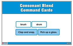 Consonant Blend Command Cards