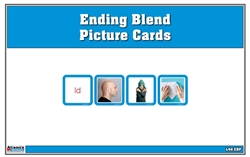 Ending Blends Picture Cards