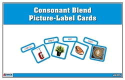 Consonant Blend Picture-Label Cards