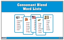 Consonant Blend Word Lists
