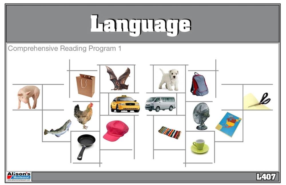 Comprehensive Reading Program 1 (Printed)