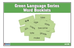 Green Series Word Booklets (Printed, Laminated and Cut)