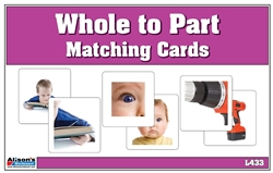 Whole to Part Matching Cards