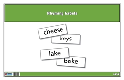 Rhyming Labels