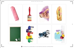Association Cards: Things That Go Together