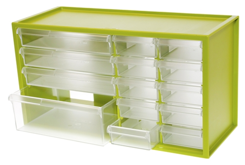 Perfect Plastic Storage Drawers For Language Series Materials