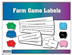 Montessori Materials: Farm Game Labels (Printed)