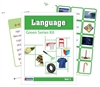 Montessori Green Language Series (Printed, Laminated & Cut)