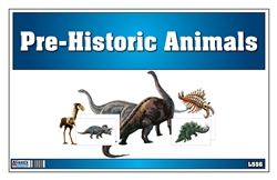 Picture Matching Cards- Prehistoric Animals