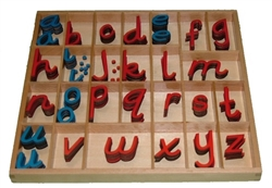 Letters for Small Movable Alphabets: D'Nealian