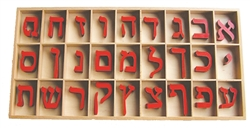 Small Movable Alphabet: Hebrew