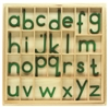 Green Small Moveable Alphabets With Box