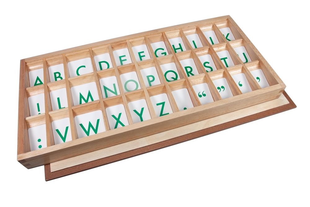 Montessori Materials Printed Alphabets With Box