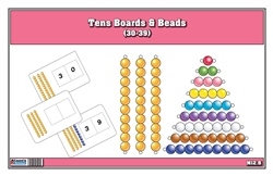 Tens Boards & Beads (30-39)