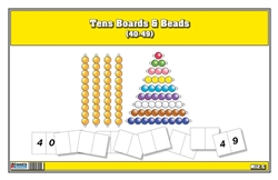 Tens Boards & Beads (40-49)