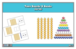 Tens Boards & Beads (50-59)