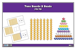 Tens Boards & Beads (70-79)