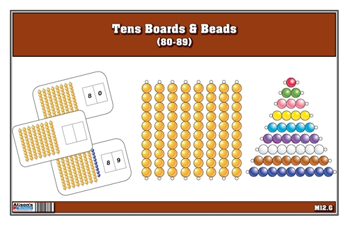 Tens Boards & Beads (80-89)