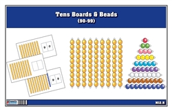 Tens Boards & Beads (90-99)