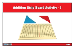 Addition Strip Board Activity-1 (Printed)