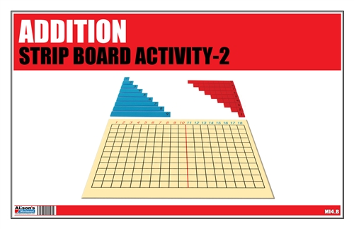 Addition Strip Board Activity-2 (Printed)