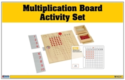 Multiplication Board Activity Set (Printed)