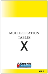 Multiplication Tables (Printed)