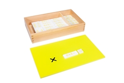 Multiplication Equations and Products Box