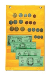 Money Pocket Chart with Play Money