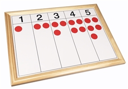 Number and Counter Control Charts (Wooden Frames)