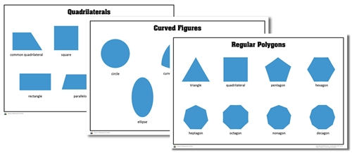 montessori materials  level 1 geometry activity cards