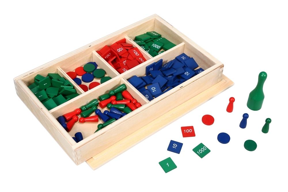 Montessori Materials Stamp Game