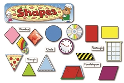 Montessori Materials: Shapes Bulletin Board Set