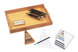 Color Bead Set with Control charts and colored pencils