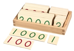 Montessori Small Wooden Numbers