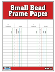 Bead Frame Paper Small