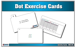 Dot Exercise Activity Cards (Printed)