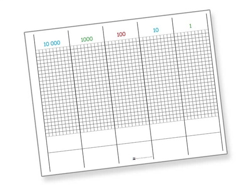 montessori math materials dot exercise sheets