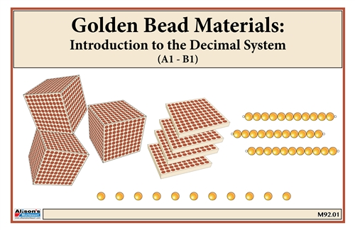 Golden Bead Material Golden Bead Material::Acitivity Sets 2 & 3A