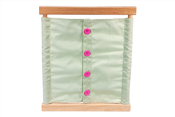 Large Button Dressing Frame